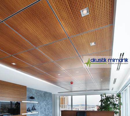 Akustik Tavan Yansıtıcı Paneller