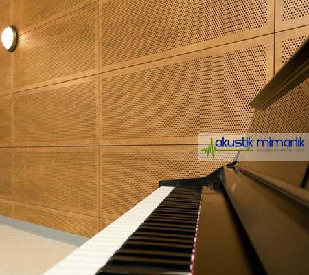Akustik Delikli Duvar Paneli