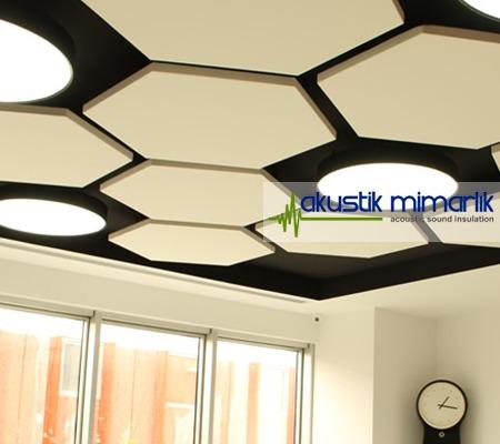 tavan akustik kaplı panel