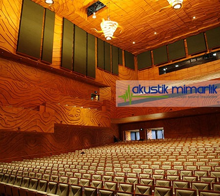 Sinema Salonu Kumaş Kaplı Panelleri