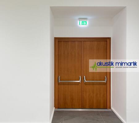 Akustik İzolasyonlu Kapı