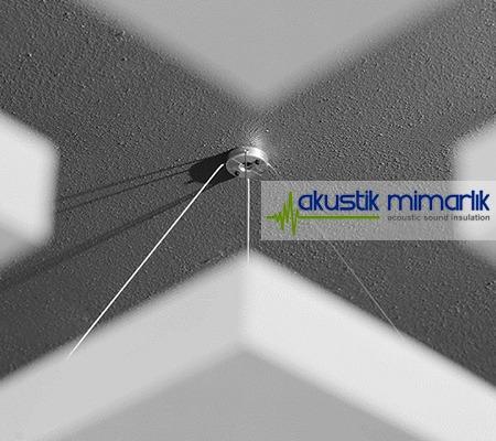 akustik yüzer tavan paneli malzemeleri