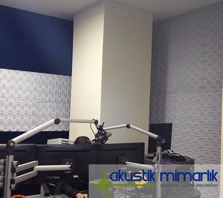 İbb Radyo Odası Ses İzolasyonu