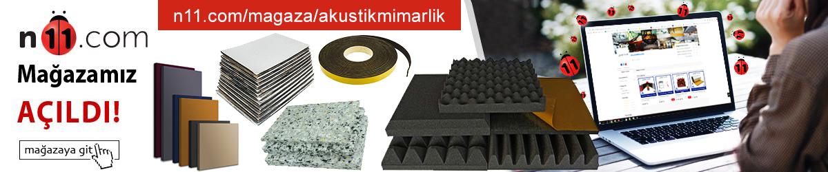 n11-akustik-mimarlik-ses-yalitim-malzemeleri-sungerleri-fiyatlari