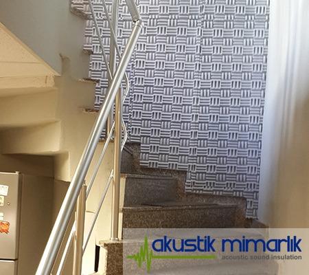 Merdiven Boşluğu Duvar Ses Yalıtımı