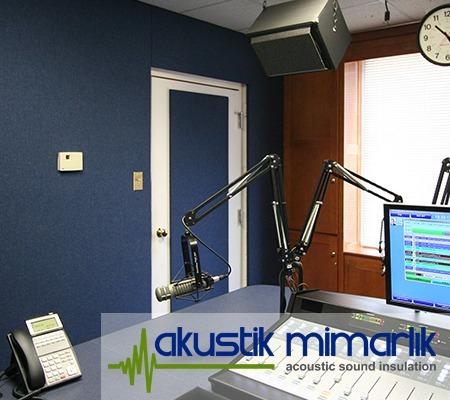Radyo Odası Ses İzolasyonu