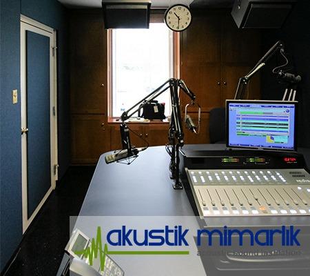 Radyo Odası Ses İzolasyon Malzemesi