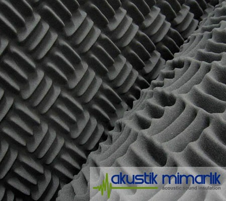 Piramit Sünger Ses İzolasyon Malzemesi