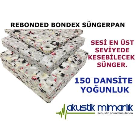 Rebonded Bondex Süngerpan