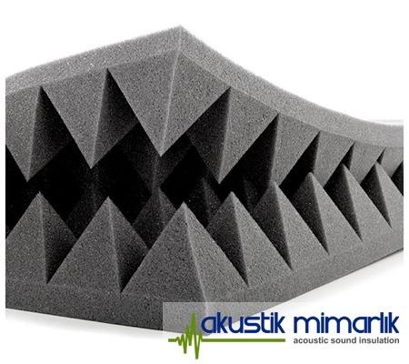 Piramit Ses Yalıtım Süngeri