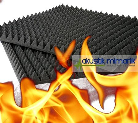 yanmaz akustik sünger